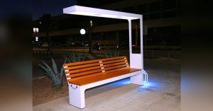Специально для бульвара Братьев Весниных сделают умные скамейки