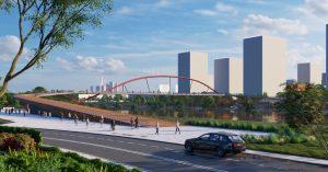 В Москве наконец-то построят пешеходные мосты, действительно удобные для колясок и самокатов
