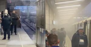 На западе Москвы сегодня горело все: поезда, небоскребы