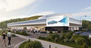 Показали, как будет выглядеть музей ретроавтомобилей в «Прокшино»