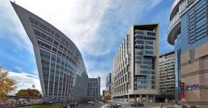 У Киевского вокзала построят апартаменты и еще один торговый центр. А сверху будет парк