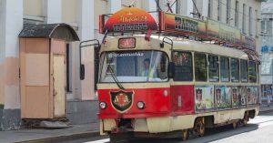 Легендарный трамвай-трактир «Аннушка» выставили на продажу за 1,2 млн рублей