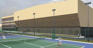 Между Ленинградкой и Химкинским водохранилищем построят огромный дворец тенниса