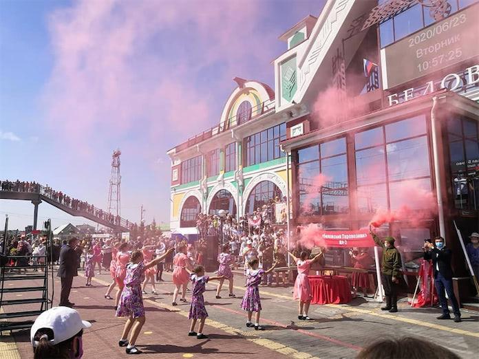 Эшелон Победы в Белово, 23 июня 2020 г