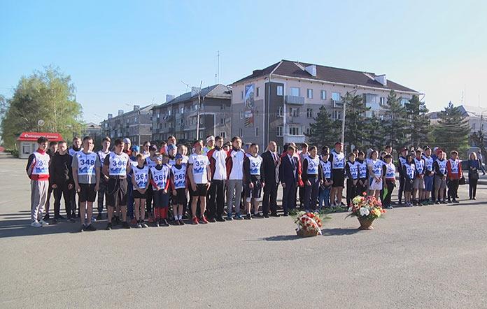 40-й, юбилейный легкоатлетический пробег Белово-Бачатский, 9 мая 2019 г