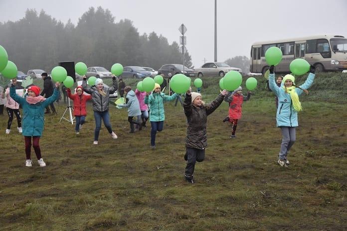 Акция «Живи, лес» в Белово, 14 сентября 2019 г