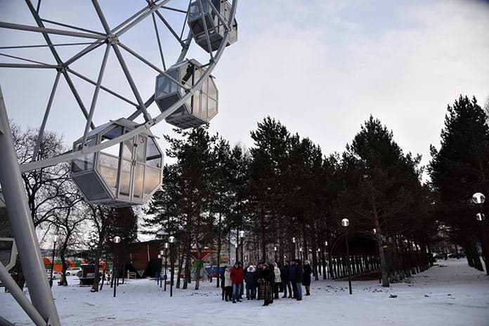 Белово, центральный парк, завершение реконструкции