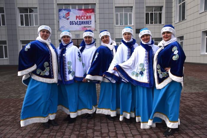 В Белово отметили День народного единства, Новый Городок, 1 ноября 2019 г