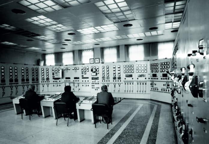 Главный щит управления Беловской ГРЭС