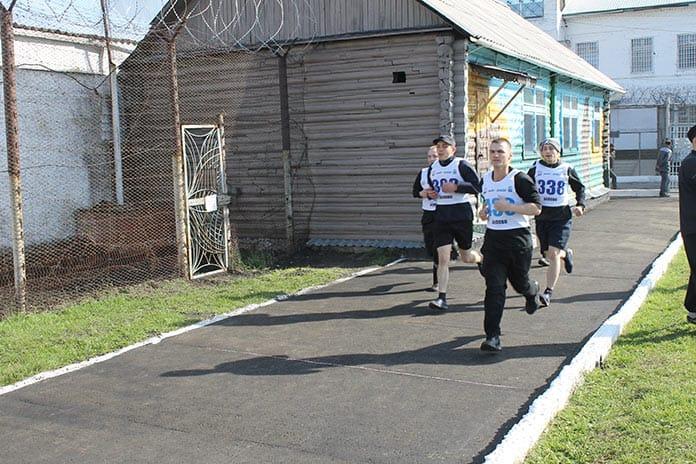 В Белове осужденные исправительной колонии № 44 сдали нормы ГТО