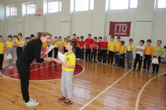 ГТО для маленьких, Белово, Бачатский, Лицей №22, 23 марта 2019 г