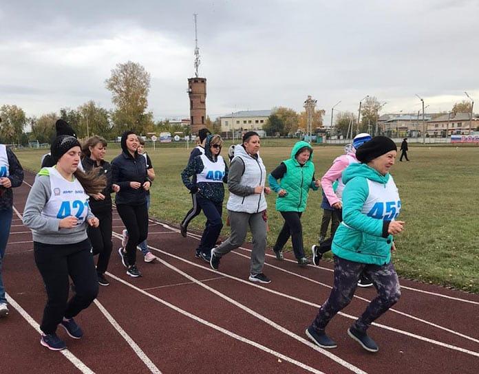 Сотрудники территориальных управлений Белово сдали нормы ГТО, 5 октября 2019 г