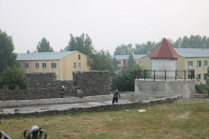 Ремонт парка «Каракан Лэнд» в поселке Новый Каракан