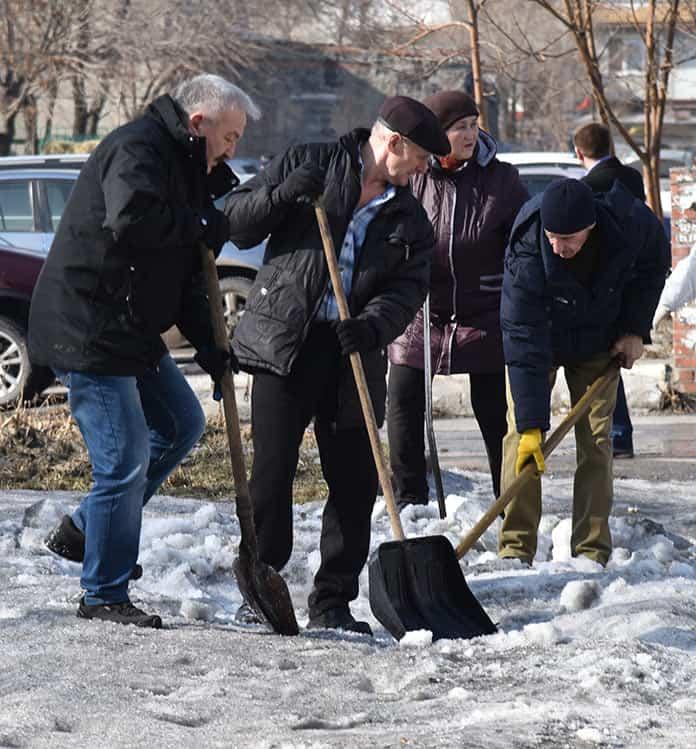 Беловчане присоединились к акции «Кузбасс в порядке»