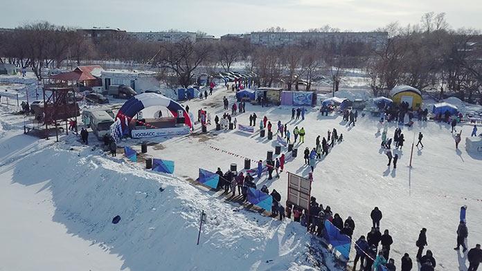 Ледовый слалом 2019, Белово, Инской