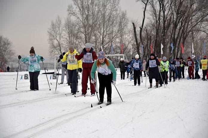 Лыжня России 2019, Белово, Инской