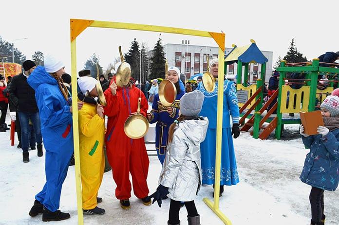 Масленица в Белово, 1 марта 2020 г