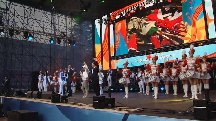 Песни Победы Кемерово 11 мая 2019 концерт