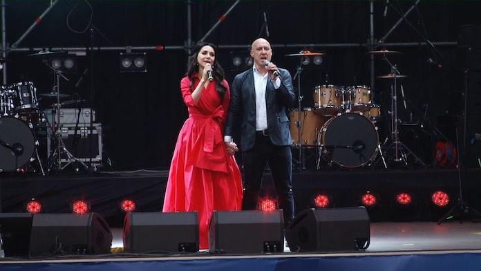 Зара и Денис Майданов. Песни Победы Кемерово 11 мая 2019 концерт