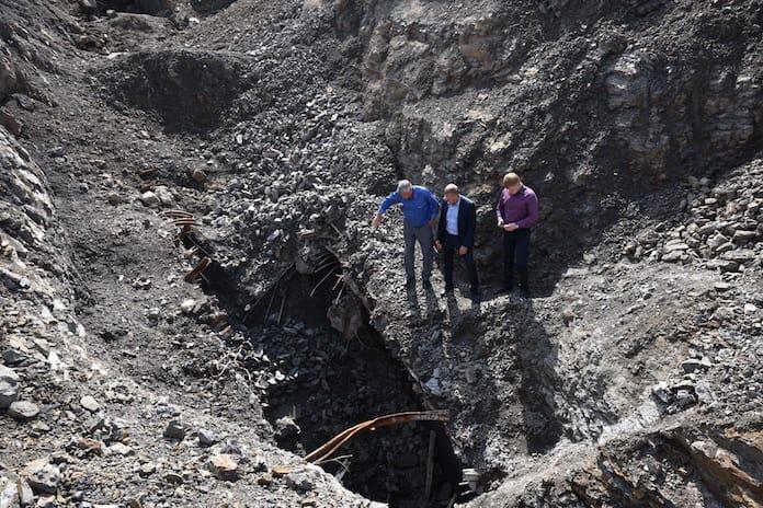 Рекультивация территории бывшей шахты «Пионерка», Белово, Бабанаково