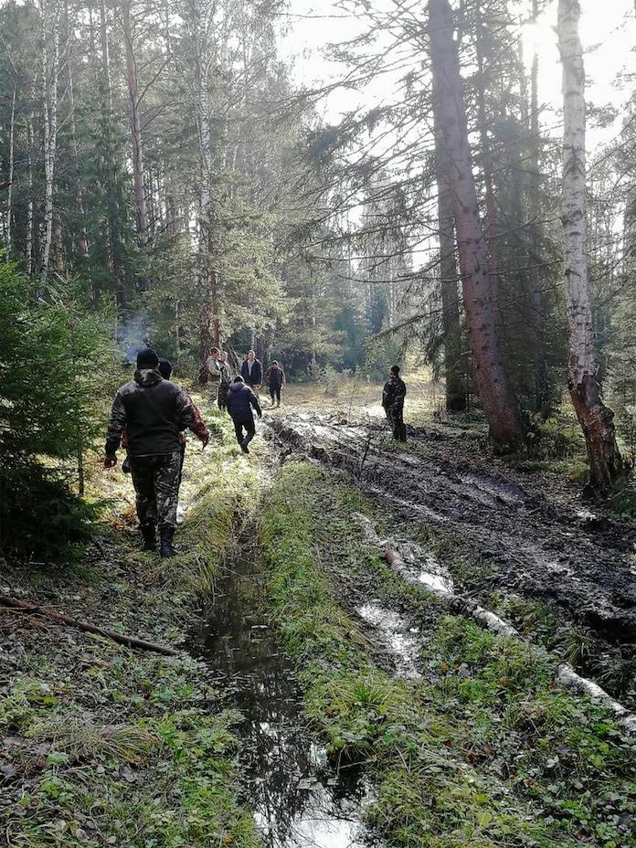 Поиск пропавшей девочки в селе Преображенка Тяжинского района Кемеровской области