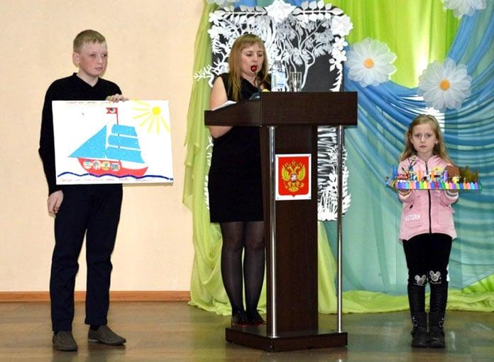 Семья Глазатовых. Конкурс Семья экология культура в Белово, 13 марта 2019