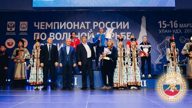 Надежда Третьякова завоевала «бронзу» Чемпионата России по женской борьбе 2019