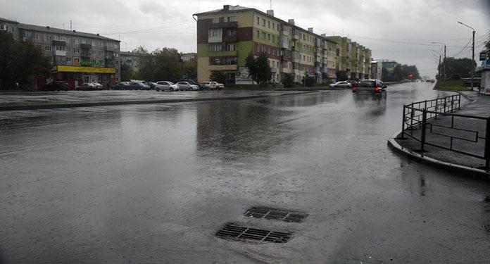 В Белово завершается ремонт улицы Октябрьская
