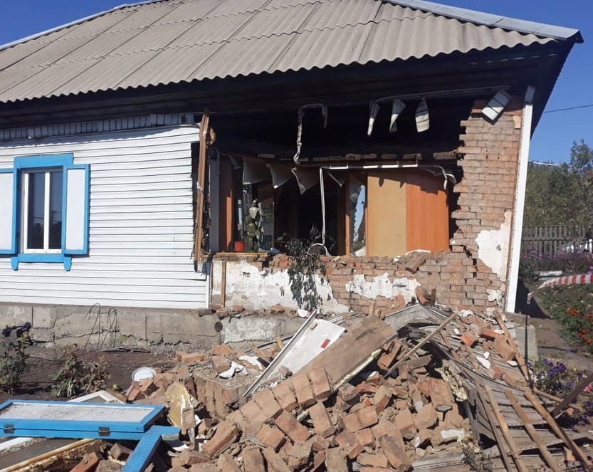 В Ленинске Кузнецком в жилом доме произошел взрыв, 5 сентября 2019 г