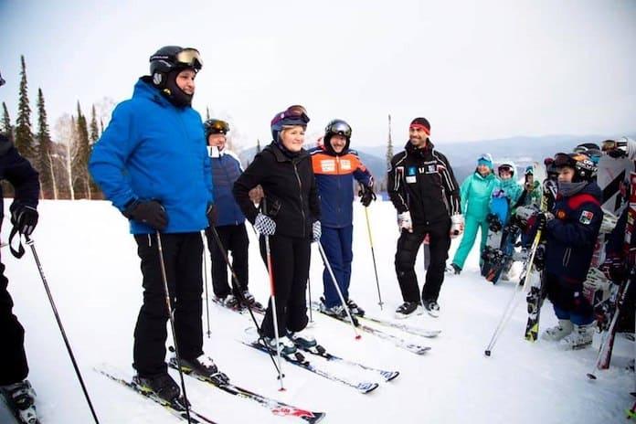 Из-за Сергей Цивилева и Ольги Голодец в Шерегеше закрыли лыжную трассу