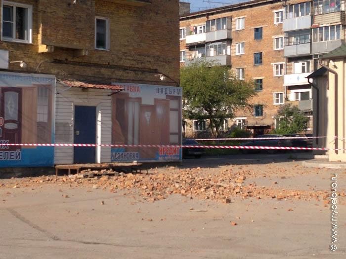 Последствия землетрясения в Белово, 19 июня 2013 г
