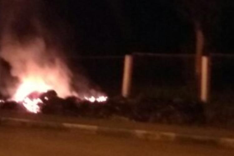 В Балакове накопившийся мусор не вывозят, а сжигают
