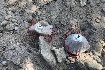 Сельский овраг засыпали отходным песком дабы не превратить его в настоящую свалку
