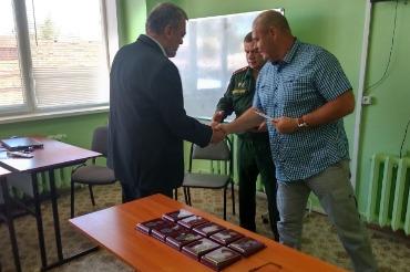 Наградили 11 ветеранов, проходивших службу в Афганистане