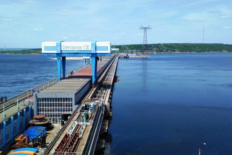 На Саратовской ГЭС  завершилось половодье