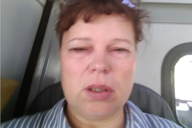 Акция-перформанс активистки Позняковой окончилась реанимацией