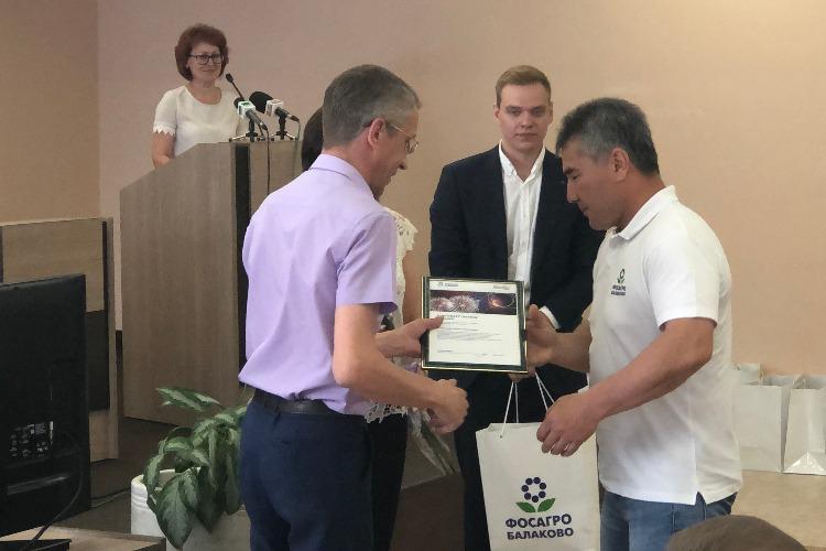 Директор Балаковского Апатита поблагодарил всех за праздник