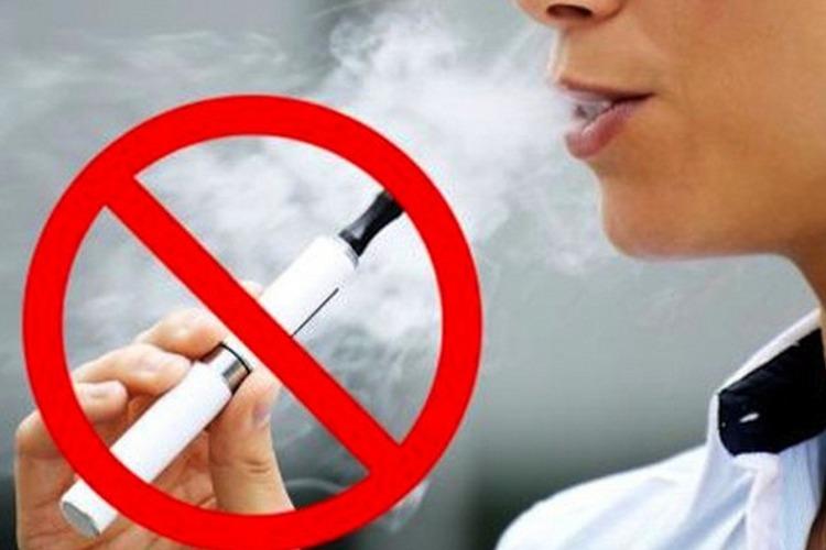 Власти одобрили запрет на электронные сигареты в общественных местах