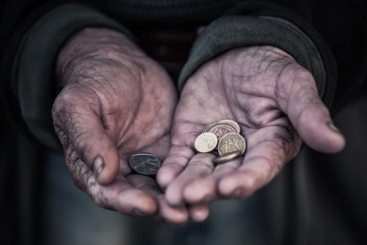 С начала года увеличилось количество бедных россиян