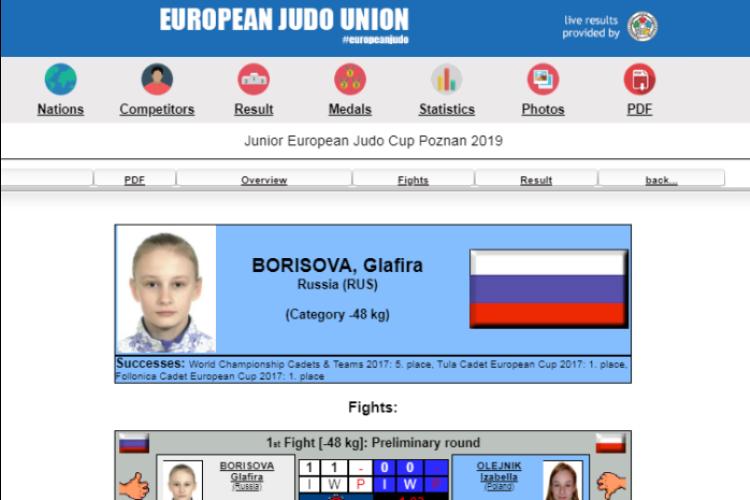 Глафира Борисова завоевала новую медаль