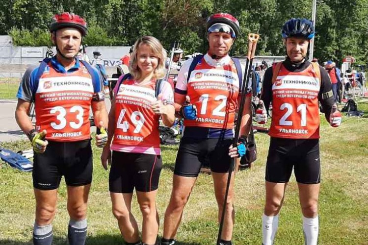 Балаковские биатлонисты победили ветеранов на Чемпионате России