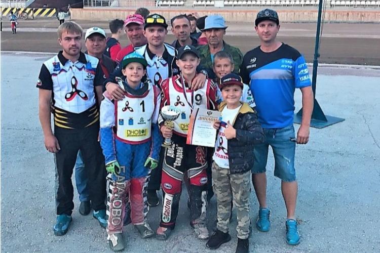 Юный гонщик из Балакова выиграл все заезды на Первенстве России