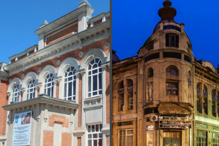 На реставрацию здания речного училища и торгового дома Шмидта нашли подрядчиков