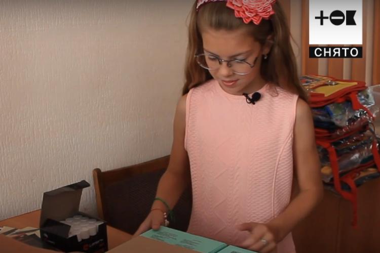 Пятиклассница помогает пострадавшим от наводнения в Иркутске. Видео