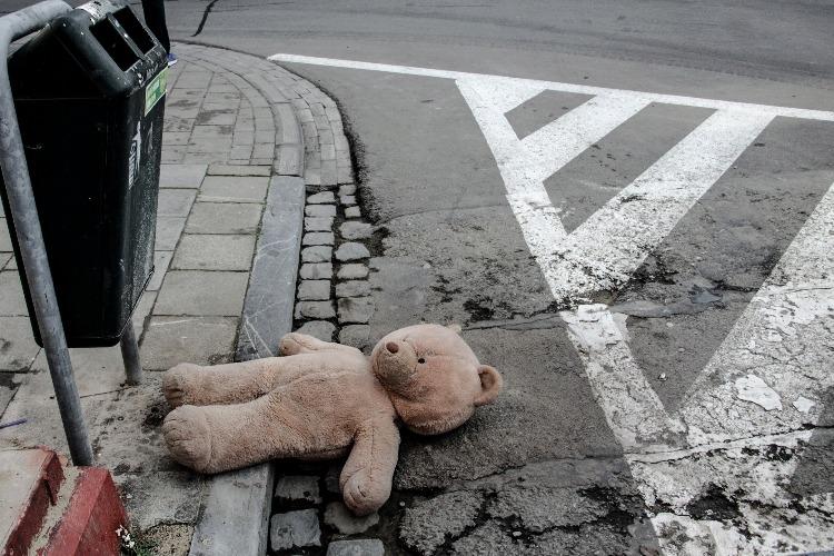 Малыш был сбит машиной прямо на глазах у родителей