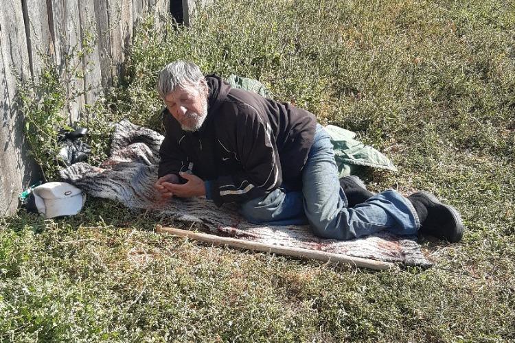 Бездомного белоруса временно поместили в больницу