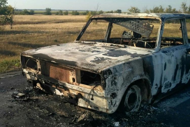 Сгоревшая машина может выйти кому-то боком