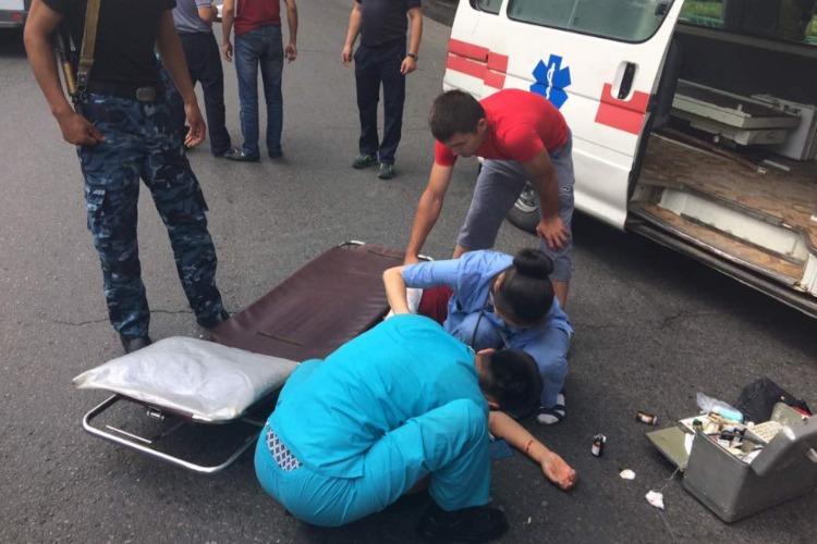 В столкновении Лад пострадали двое детей