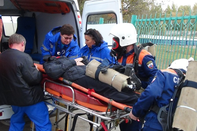 В балаковской спортивной школе отработали действия при угрозе теракта
