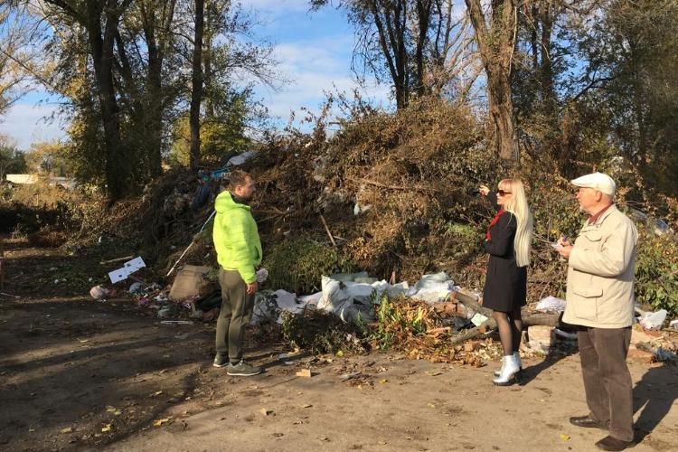 Общественная палата заставит Регоператора ликвидирать свалки растительных отходов
